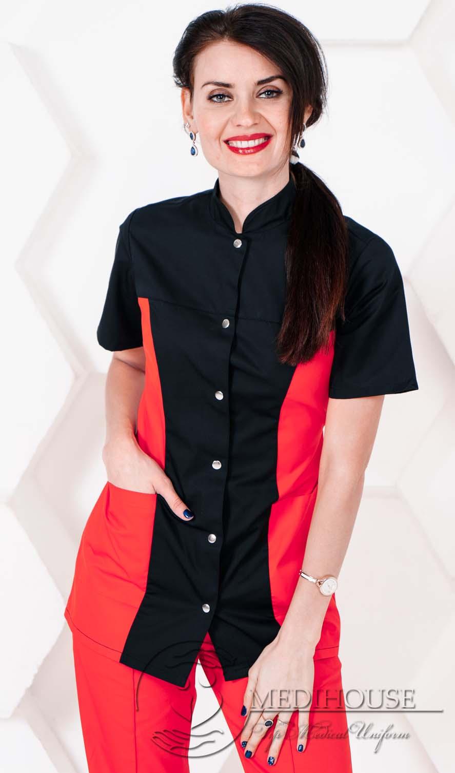 Женский медицинский блузон мод. 1.2.2 R&B