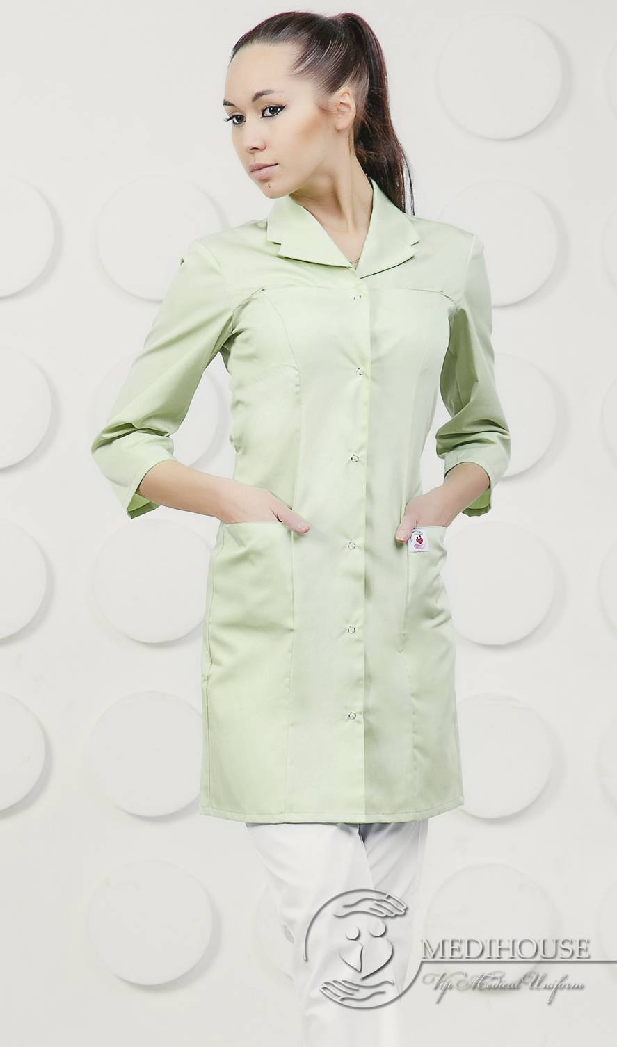 Женский медицинский халат мод. 1.0.7