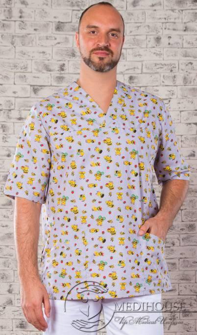 Мужская медицинская куртка мод. 5.1/Color