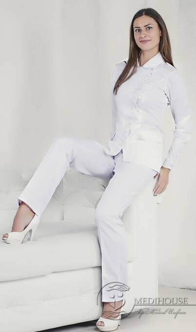 Женский медицинский блузон Аура