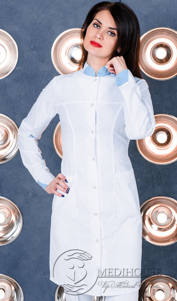 Женский медицинский халат мод. 1м1 Color
