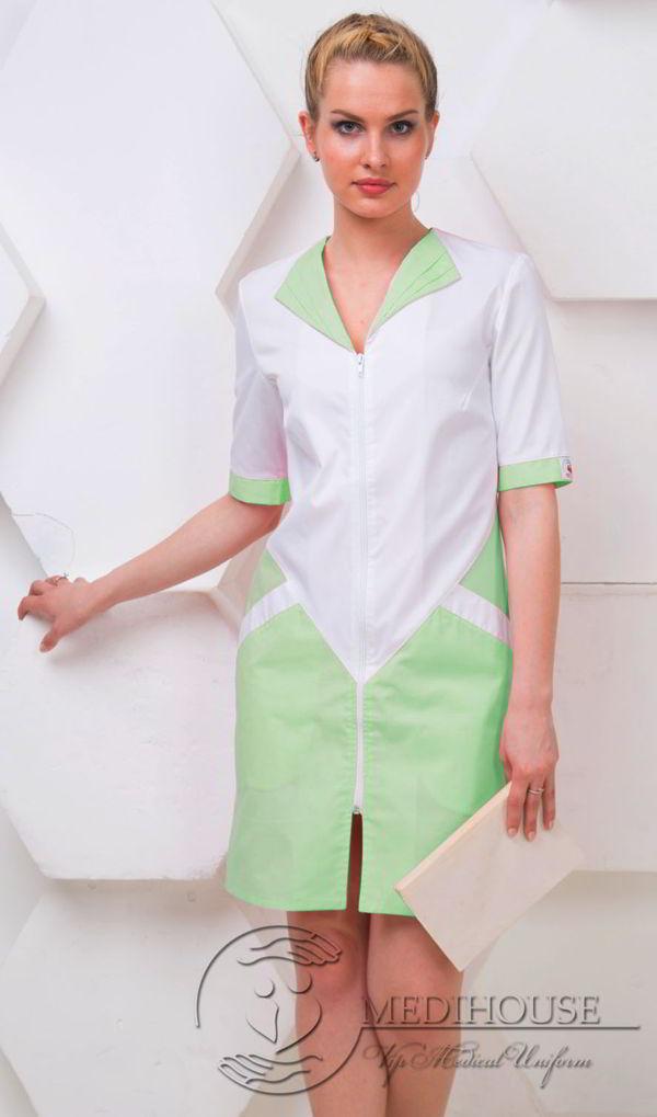 Женский медицинский халат Сияние