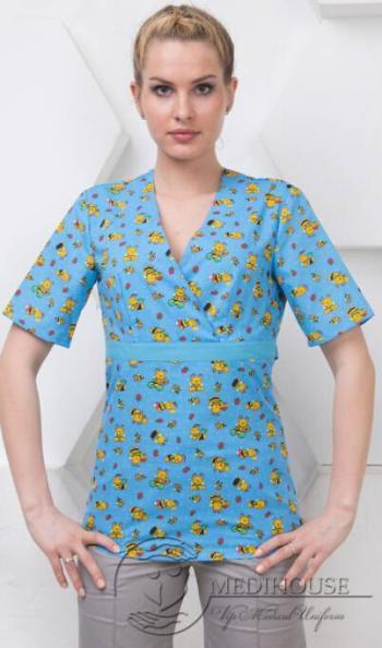 Женский медицинский блузон мод. 3.2/Color