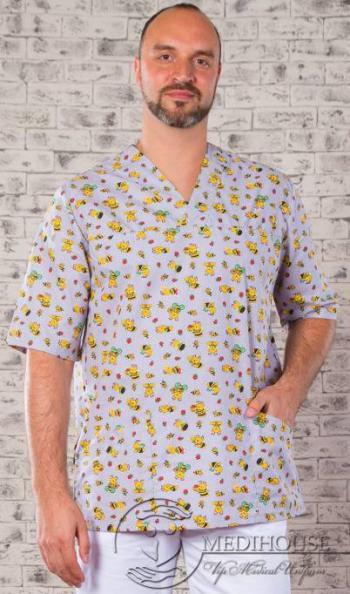 Мужская медицинская куртка мод. 5.1 Color