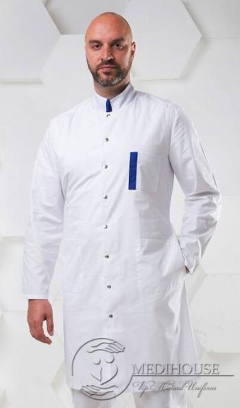 Мужской медицинский халат Фьюжен 1