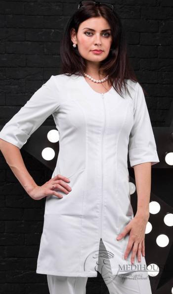 Женский медицинский халат мод. 1.4 White