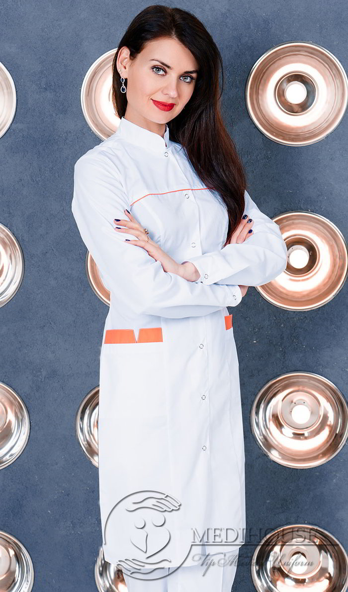 Женский медицинский халат мод. 1м2 Color
