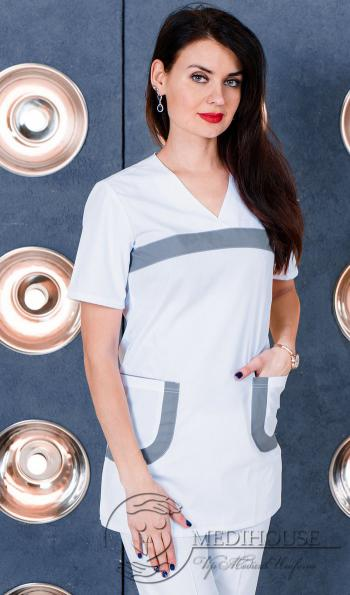 Медицинская туника женская мод. 14.33 Color