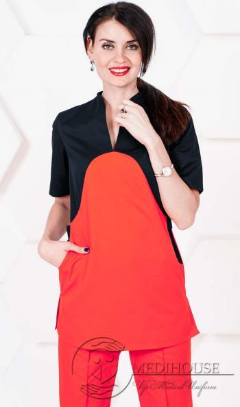 Женский медицинский блузон мод. 2.2 R&B