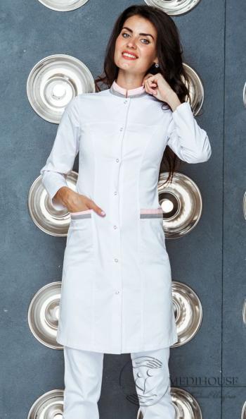 Женский медицинский халат мод. 21 Color