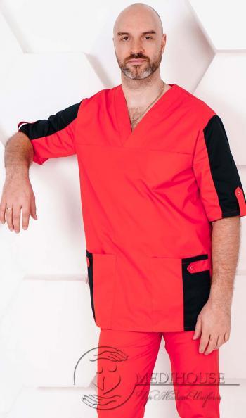 Мужская медицинская куртка мод. 5.2 R&B