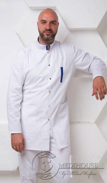 Мужской медицинский халат Фьюжен 2