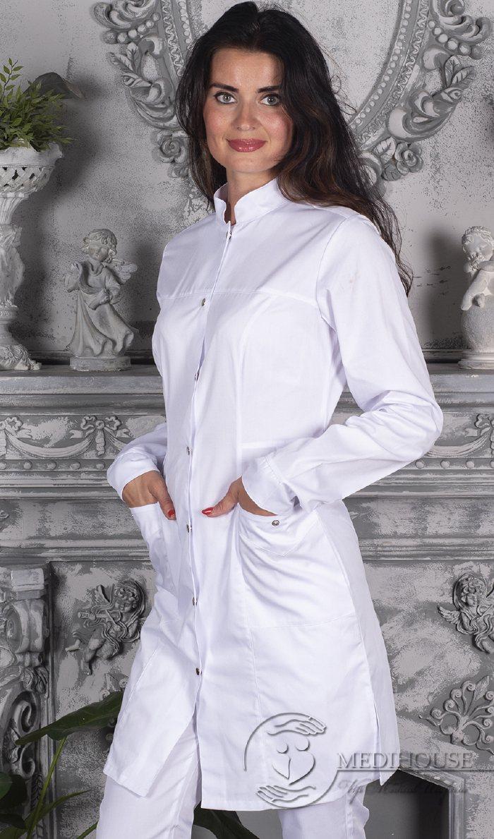 Женский медицинский халат мод.1м